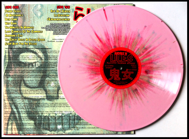 Rotting Zombie Brains (Edition of 350, 180 gram pink with red and green splatter vinyl).