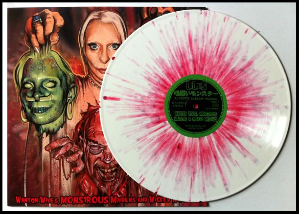 Blood of 1000 Virgins (Edition of 150, 180 gram white vinyl with blood splatter).