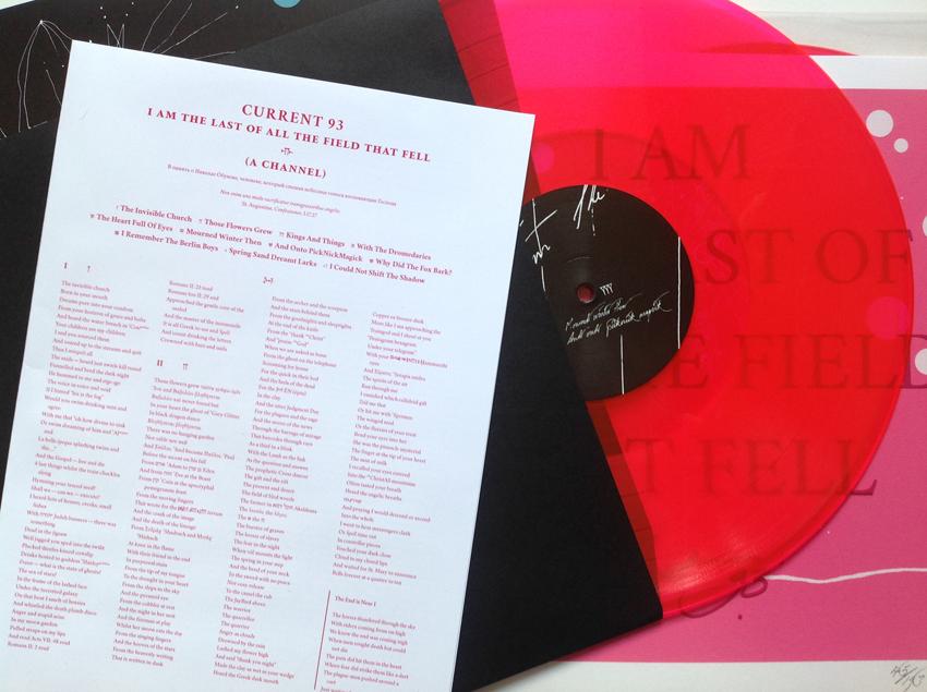 Pink vinyl edition.