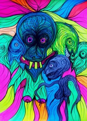 Day-Glo-Dæmonomania™ #Nine