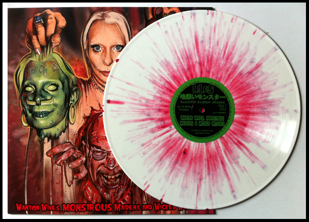 Blood of 1000 Virgins (Edition of 150, 180 gram white vinyl with blood splatter).