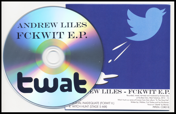Back cover and disc.
