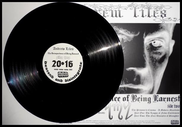 Black vinyl L.P.