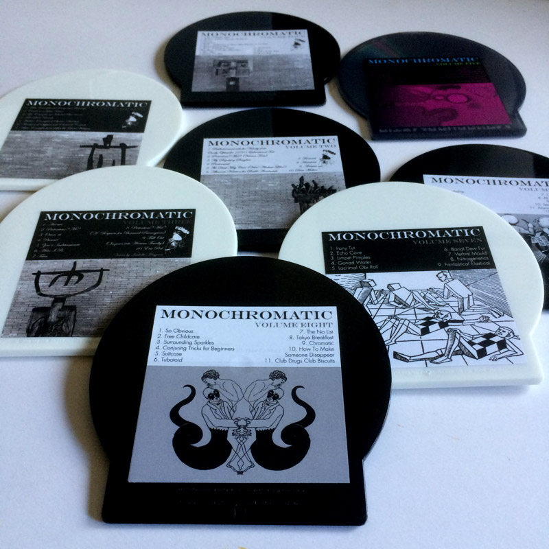 Monochromatic: All 8 discs in the series so far – FROM £70